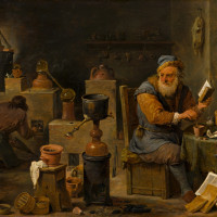 David Teniers de Jonge - The Alchemist